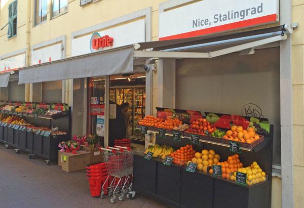 Utile Supermarché Stalingrad Nice