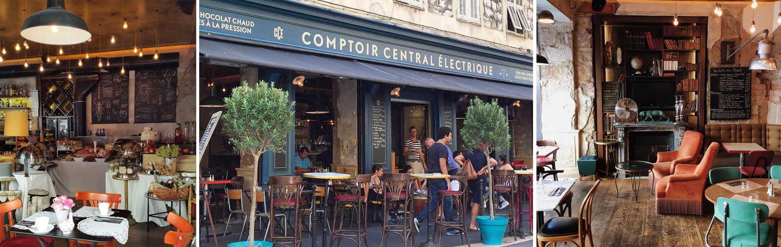 Comptoir Central Electrique - Trendig bar i Nice