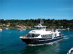 Saint Tropez med båt