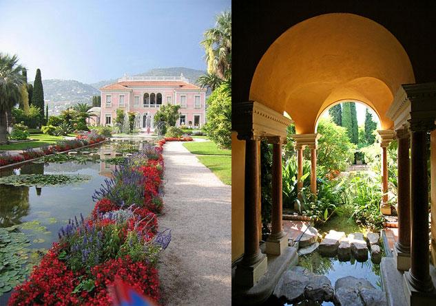 Villa Ephrussi de Rothschild, Cap Ferrat.
